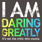 image of Daring Greatly badge