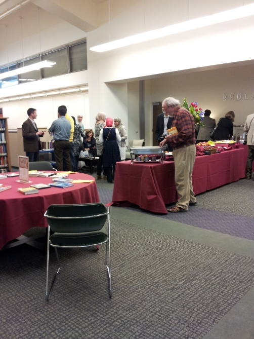 Muslim Journeys Bookshelf Opening Reception: Mingling & Refreshments
