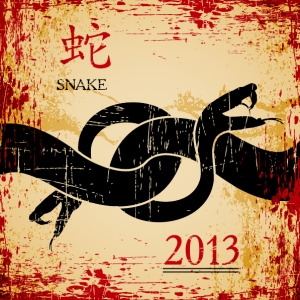 image of 2013 year of the snake