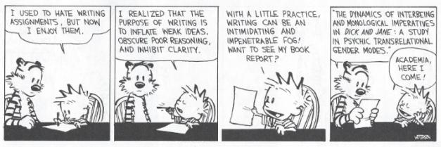 image of comic strip Calvin & Hobbes