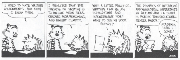 image of comic strip Calvin & Hobbes