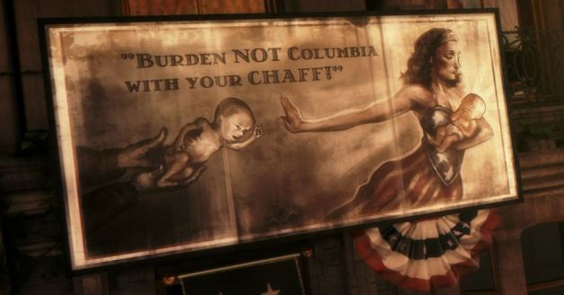 Burden not Columbia with your chaff. Bioshock Infinite. Image from Terminal Gamer.