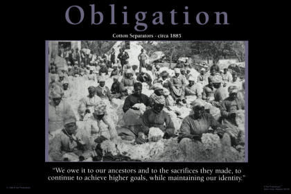 image of obligation poster