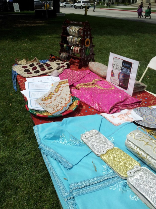 Cultural items from Redlands Peace Academy members