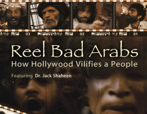 image of dvd cover for Reel Bad Arabs.