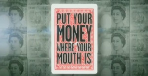 "Image of the game show ""Put Your Money Where Your Mouth Is."""