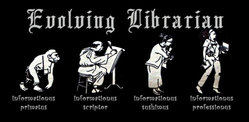 image of the evolution of librarians
