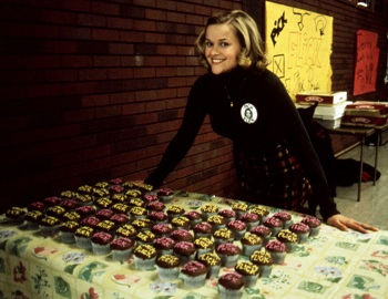 Image of Reese Witherspoon from the 1999 film, Election.