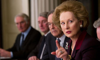 Image of Meryl Streep from the 2011 film, The Iron Lady.