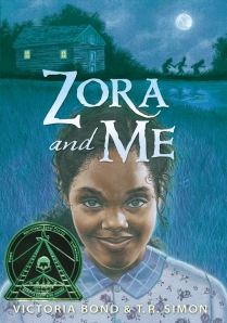 Image of book cover of Zora and Me.
