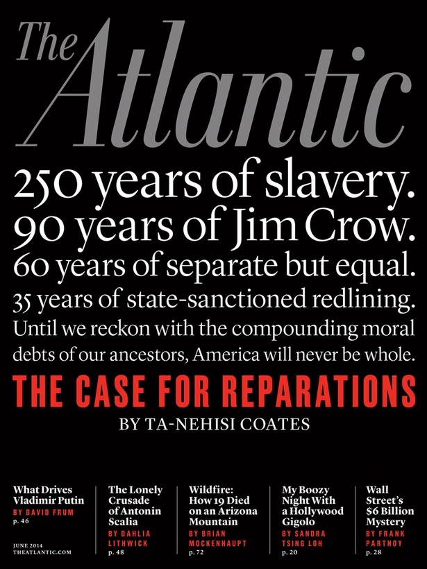 The Atlantic Monthly, June 2014 cover